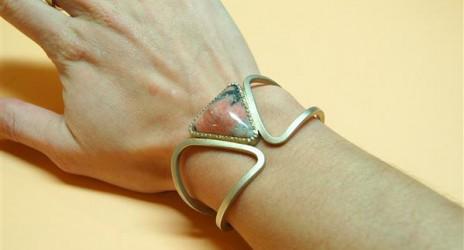 Armband met Wagneriet