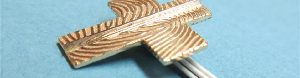 Hanger met vingerprints